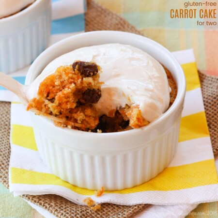 Gluten-Free Carrot Cake Recipe - Gluten Free Dessert for Two