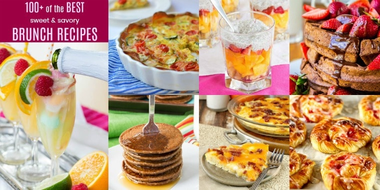 Savory and Sweet Brunch Recipes