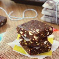 Double Chocolate Cherry Pistachio Energy Bars