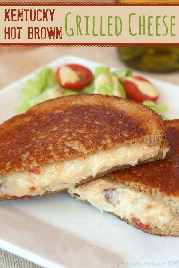Kentucky Hot Brown Sandwich Grilled Cheese