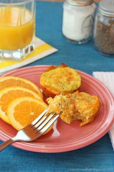 Apple & Sweet Potato Egg Muffin Cups | cupcakesandkalechips.com | #breakfast #brunch #glutenfree #vegetarian