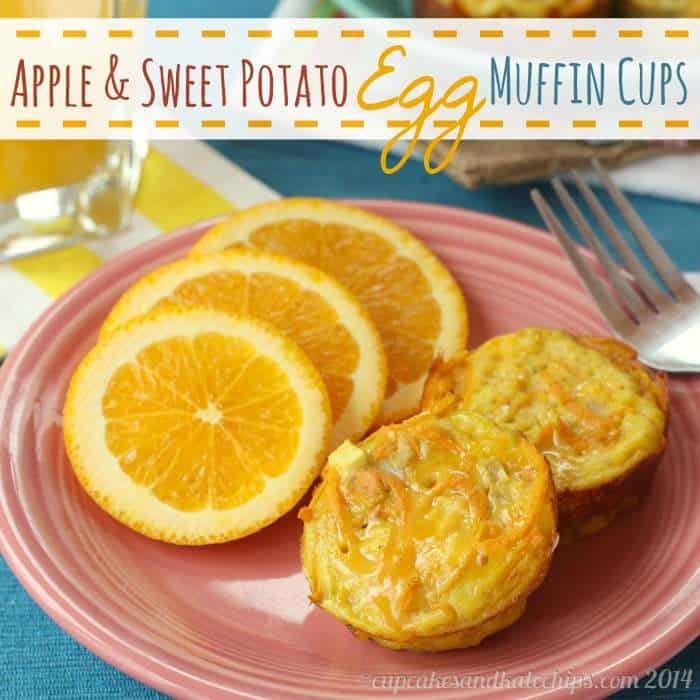 Apple & Sweet Potato Egg Muffin Cups | cupcakesandkalechips.com | #breakfast #brunch #glutenfree #vegetarian