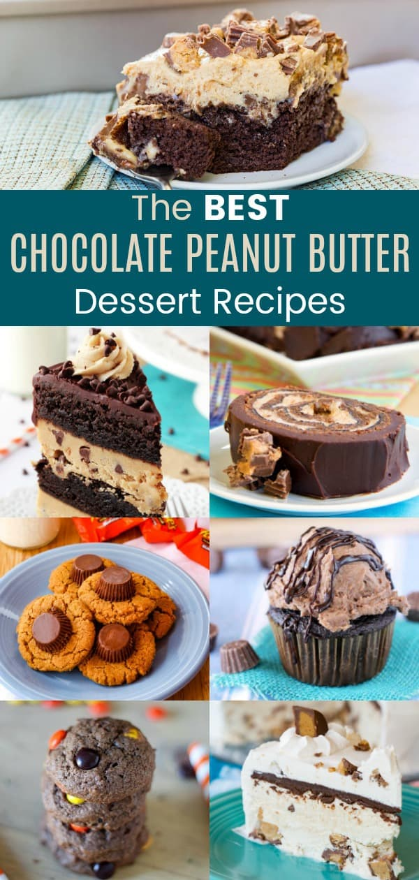 Best Chocolate Peanut Butter Dessert Recipes