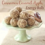 Cinnamon Caramel Apple Energy Balls for #SundaySupper