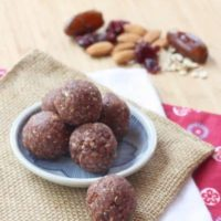 Cranberry Almond Energy Balls