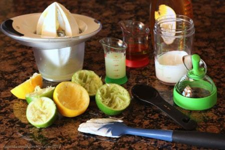 Homey Lemon Lime Dressing and OXO gadgets
