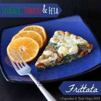 Spinach Tomato and Feta Frittata 12 title