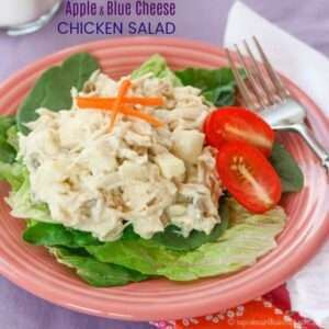 Apple Blue Cheese Chicken Salad