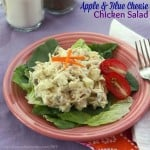 Apple & Blue Cheese Chicken Salad