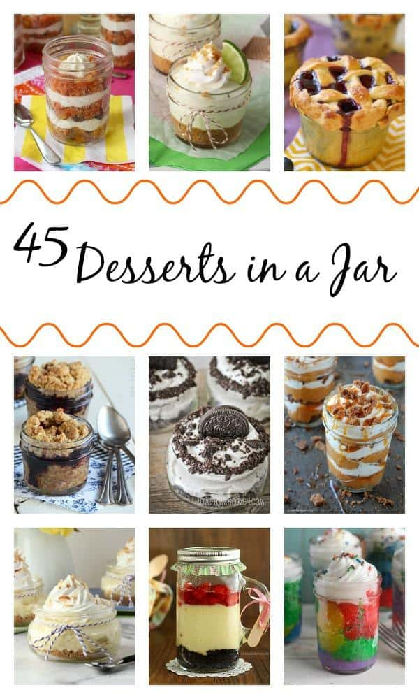 45 Desserts In A Jar Cupcakes Kale Chips