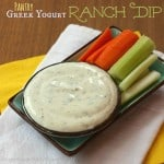 Greek Yogurt Ranch Dip from Pantry Ingredients