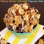 Peanut Butter Golden Grahams Popcorn Bark