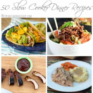 50 Slow Cooker Dinner Recipes