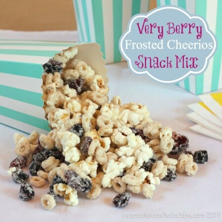 Very Berry Frosted Cheerios & Popcorn Snack Mix