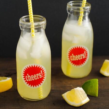 Agave Lime Lemonade – Guest Post from Foxes Love Lemons