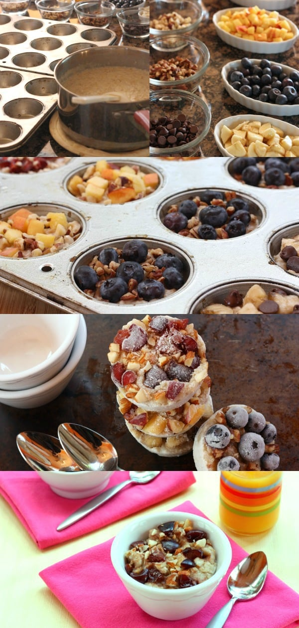 Make Ahead Breakfast Oatmeal Cups Step By Step Photos