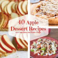 40 Apple Dessert Recipes square