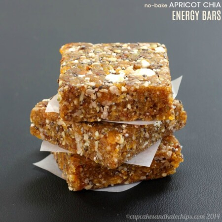 Apricot Chia No-Bake Energy Bar Recipe