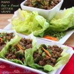 Asian Beef and Broccoli Lettuce Wraps