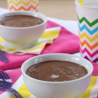 Chocolate Pudding Snack Hack