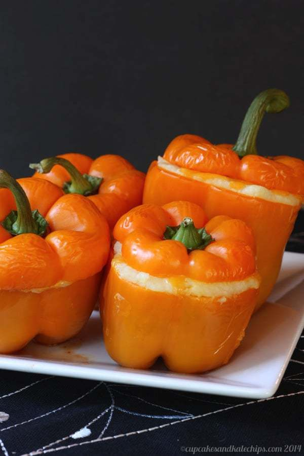 Shepherd's Pie Stuffed Peppers