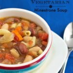 Easy Vegetarian Minestrone Soup – Guest Post from It's Yummi