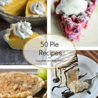 50 Pie Recipes square