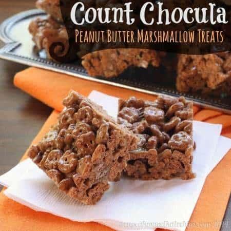 Count Chocula Peanut Butter Marshmallow Treats 3 title