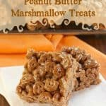 Count Chocula Peanut Butter Marshmallow Treats for #HolidayFoodParty