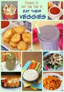 Get Kids to Eat Their Veggies Collage