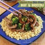 #GlutenFree Stir Fried Beef and Broccoli with #McCormickFlavor #AD
