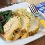 Orange Saffron Slow Cooker Roast Chicken