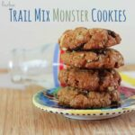 Trail Mix Monster Cookies & #CVSAbound #Snackurday #GlutenFree Snacks