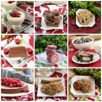 Christmas Desserts Collage 700