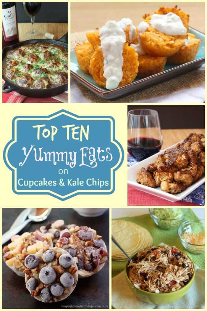 Top 10 Yummy Eats of 2014 on Cupcakes & Kale Chips (plus my 5 Faves) - mains, sides, snacks, appetizers and more! These are the most popular and best recipes of the year on cupcakesandkalechips.com