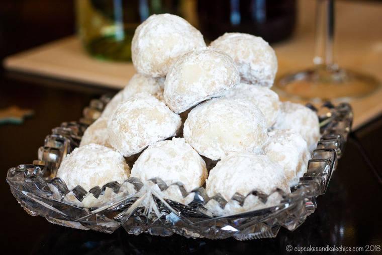 White Chocolate Macadamia Nut Snowballs