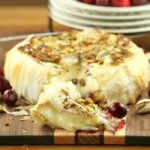 Cranberry Pistachio Stuffed Brie Wrapped in Phyllo – Guest Post from Food Done Light