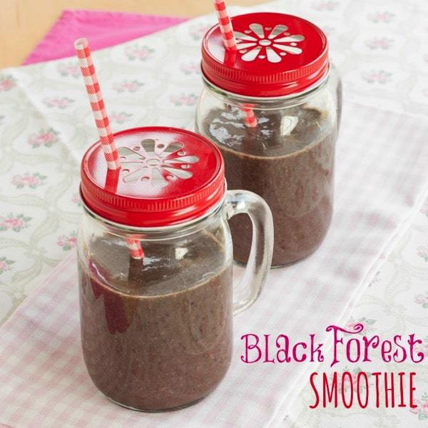 Black Forest Green Smoothie Recipe 1 title