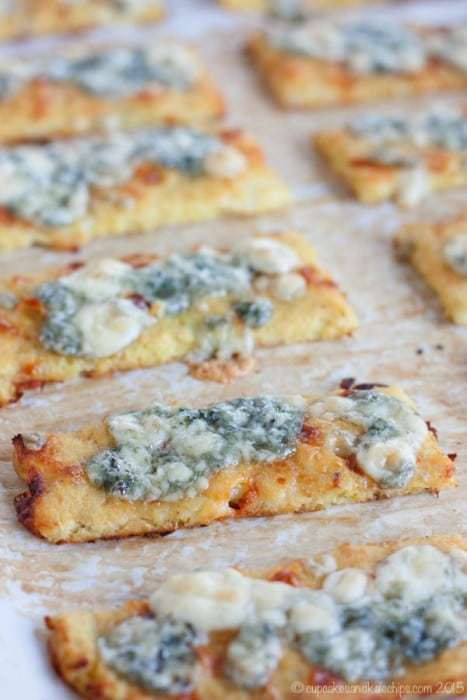 Blue Cheese Cauliflower Cheesy Breadsticks