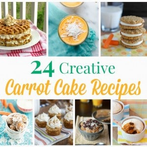 Carrot Cake Recipes Square Collage