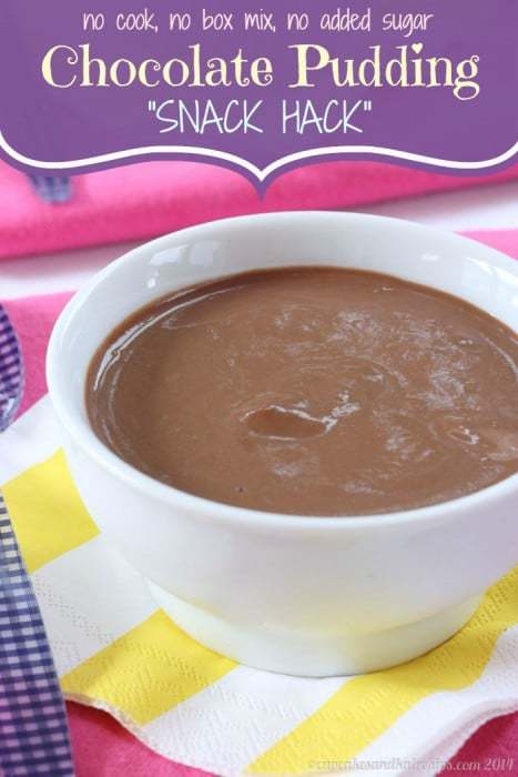 Chocolate Pudding Snack Hack 2 title