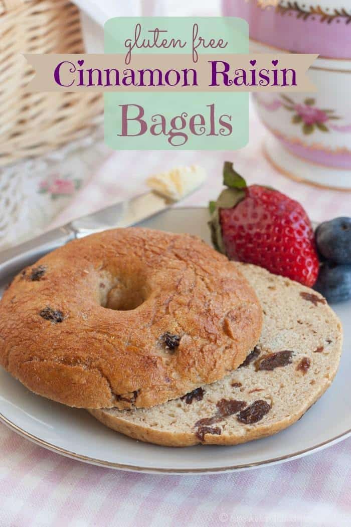 Gluten Free Cinnamon Raisin Bagels - it's shockingly easy to make a wheat-free version of this breakfast favorite | cupcakesandkalechips.com