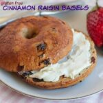 Gluten Free Cinnamon Raisin Bagels for #SundaySupper