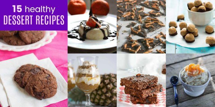 Delicious Healthy Desserts