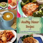 Healthy Dinner Recipes Collage sq