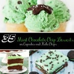 35 Mint Chocolate Chip Desserts sq