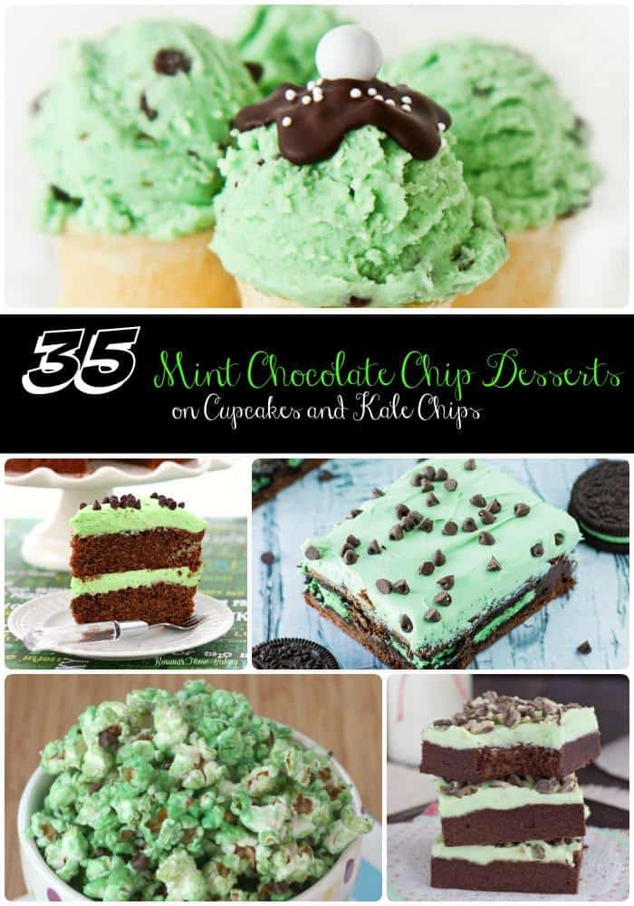 mint chocolate chip cake 35 mint chocolate chip dessert recipes cupcakes amp kale chips 5951