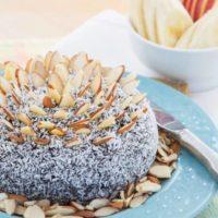 Flourless Almond Joy Cookie Dough Ball