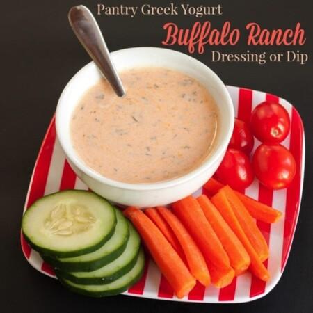 Pantry Greek Yogurt Buffalo Ranch Salad Dressing