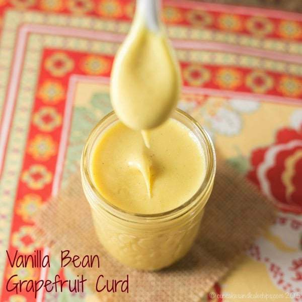 how to make vanilla curd